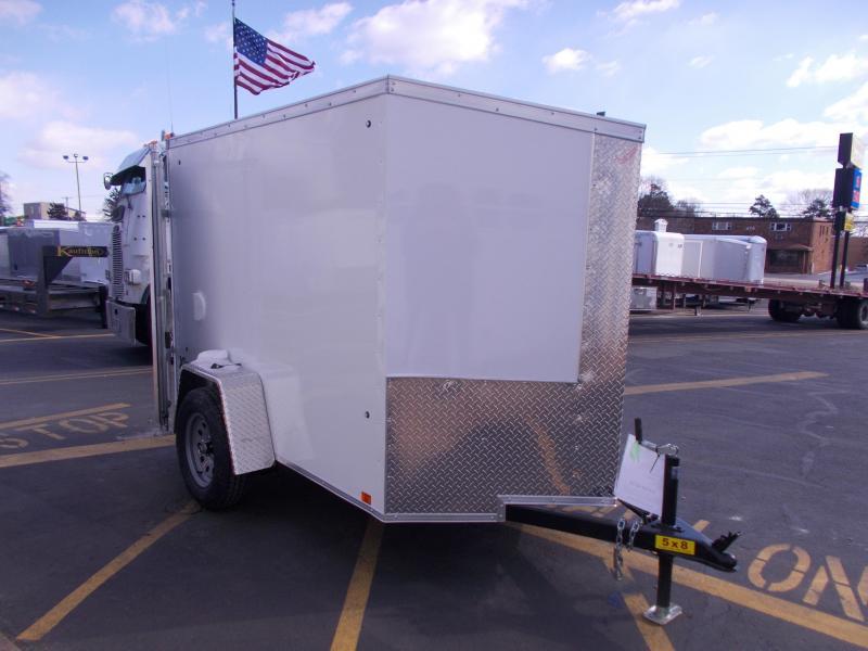 2020 Cargo Express 5x8 V-Nose Enclosed Trailer 2020291