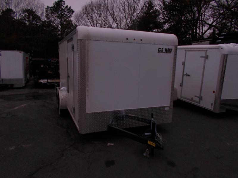 2019 Car Mate Trailers 7x14 - 7W Tandem Axle Custom Cargo Trailer Enclosed Cargo Trailer 2019989