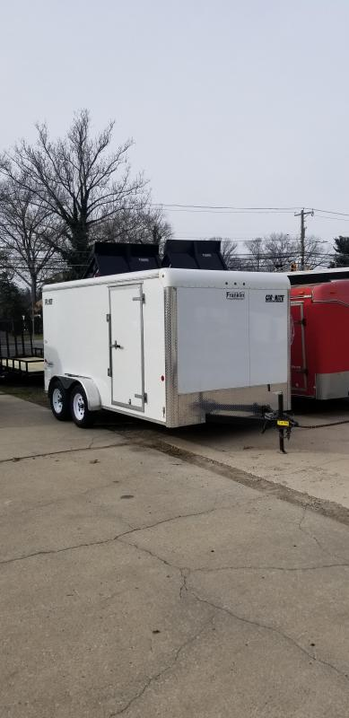 2018 USED Car Mate Trailers 7x14 Enclosed Cargo Trailer 2019801