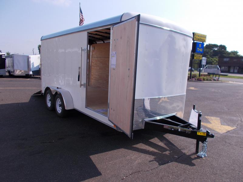 2018 Carry-On 7X16 Enclosed Cargo Trailer 2019437