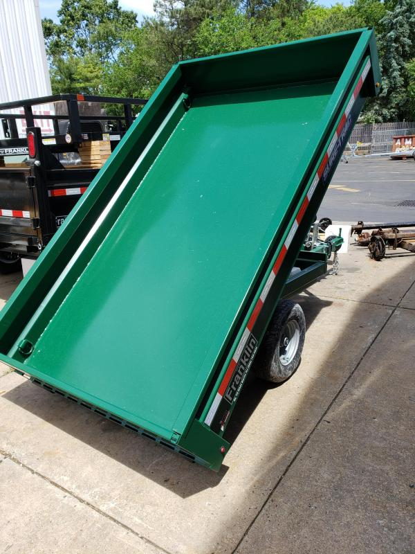 2019 Sure-Trac 4.5 X 8 3K Utility Dump Dump Trailer