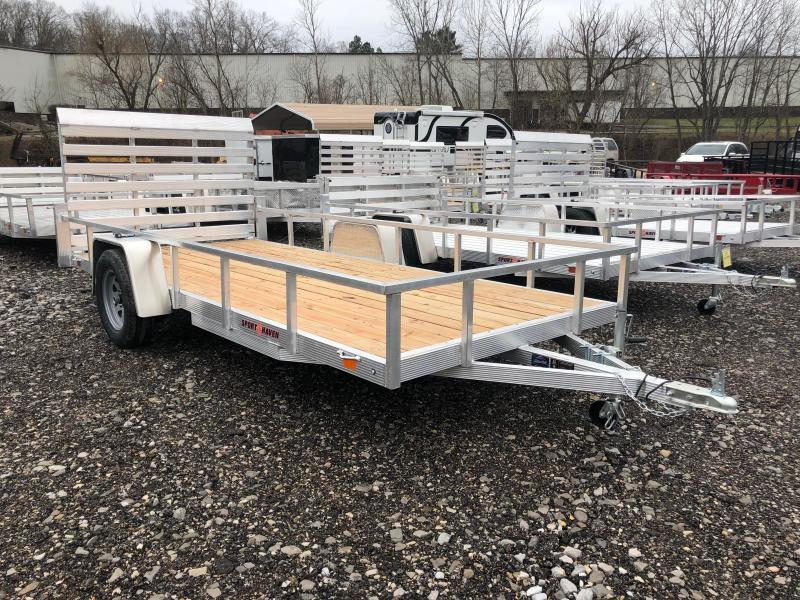 2019 Sport Haven AUT614 Aluminum Utility Trailer
