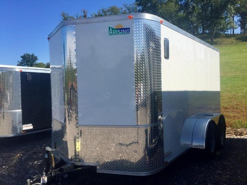 2019 Arising 712VTRW Enclosed Cargo Trailer