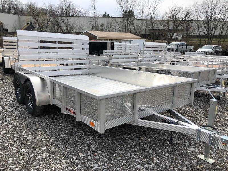2020 Sport Haven AUT712TDS-F Utility Trailer