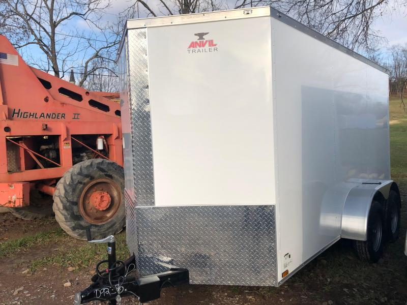 2019 Anvil AT6X12TA2 Enclosed Cargo Trailer