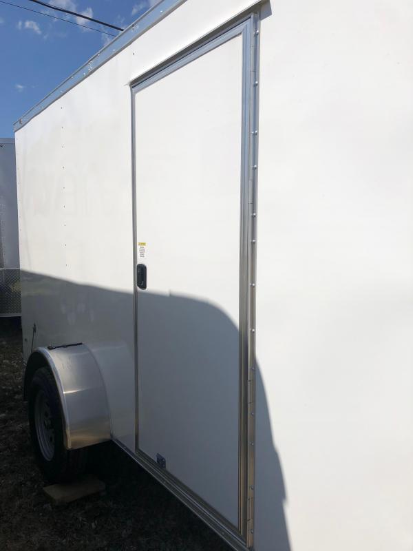 2019 Anvil AT6X12SA Enclosed Cargo Trailer w/ Barn Doors