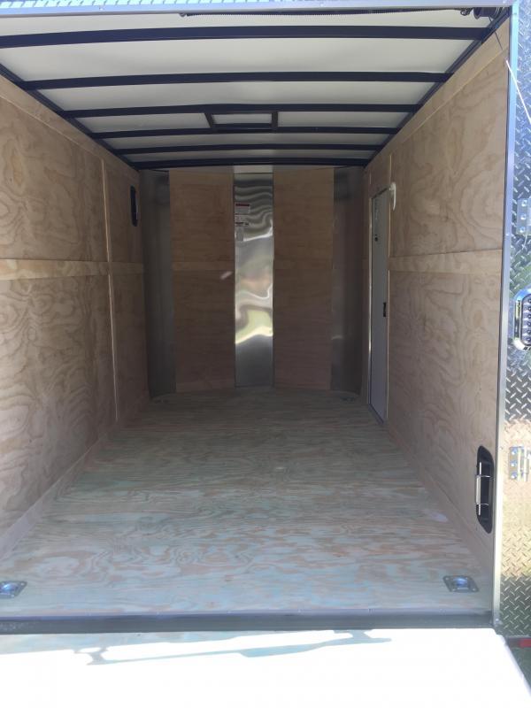 2019 Arising 712VSRB Enclosed Cargo Trailer With 7' Interior Height