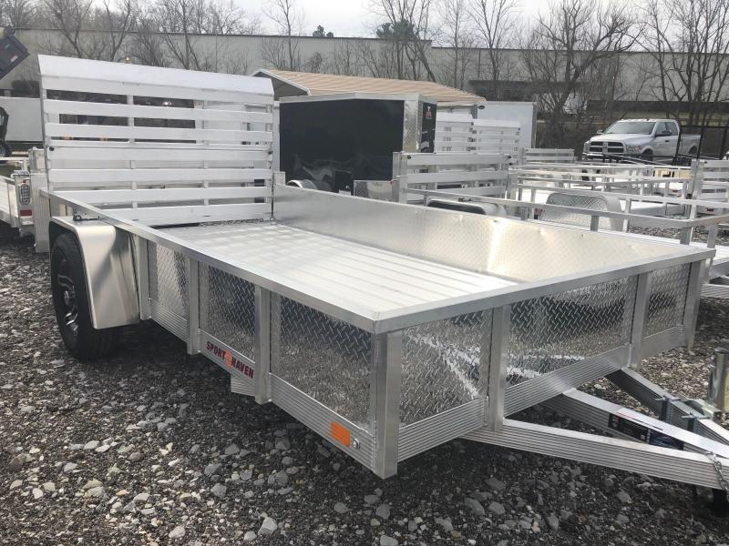 2019 Sport Haven AUT612DS-F Utility Trailer