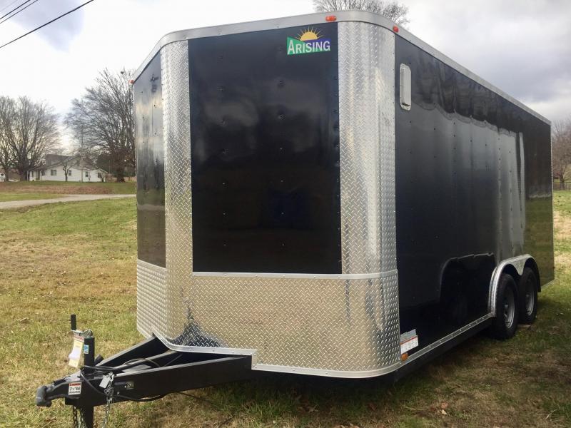 2019 Arising 8.516VTRB Enclosed Cargo Trailer