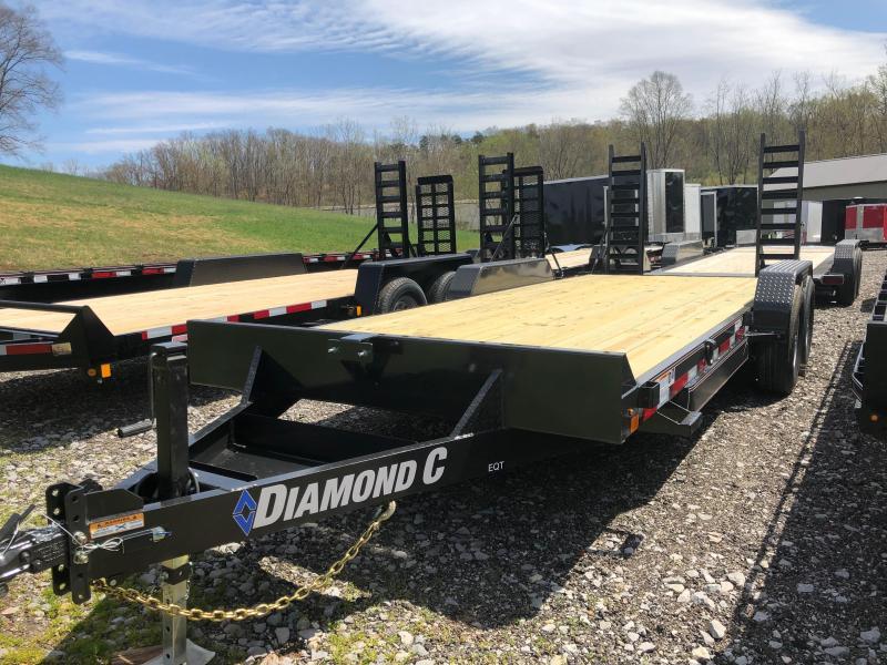 2019 Diamond C Trailers EQT207L20X82 Equipment Trailer