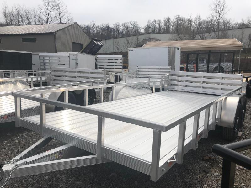 2019 Sport Haven AUT716TD-F Utility Trailer