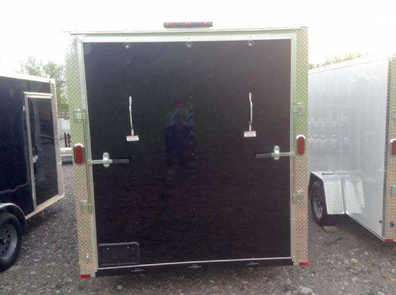 2019 Arising 714VTRB Enclosed Cargo Trailer w/ 7' Interior Height