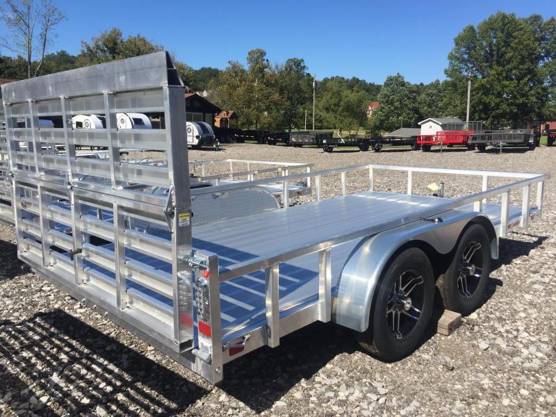 2020 Sport Haven AUT714TD-F Aluminum Utility Trailer