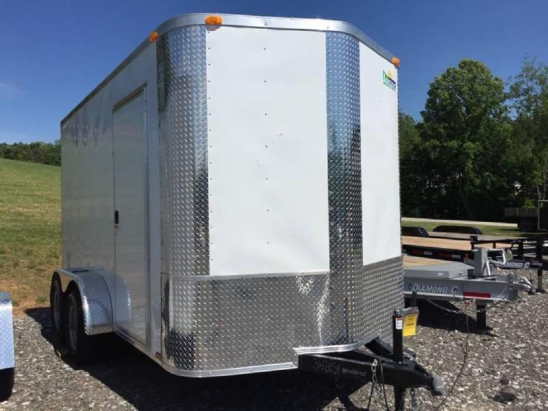 2019 Arising 712VTRW Enclosed Cargo Trailer w/ 7' Interior Height