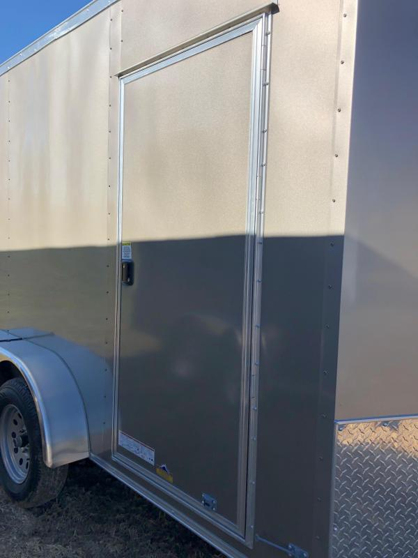 2019 Anvil AT7X12TA2 Enclosed Cargo Trailer w/ 7' Interior Height