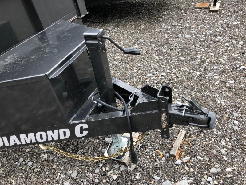 2019 Diamond C Trailers EDM252 12X82 Dump Trailer