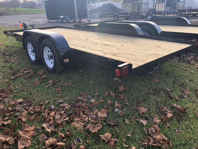 2020 Currahee C718 Car Trailer