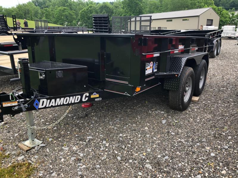 2019 Diamond C Trailers 46ED 10X60 Dump Trailer