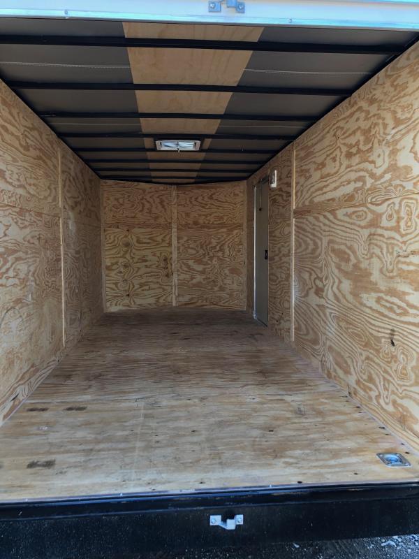 2019 Anvil AT7X16TA2 Enclosed Cargo Trailer w/ Barn Doors