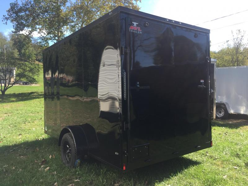 2019 Anvil AT7X12SA Enclosed Cargo Trailer W/ 7' Interior Height - Blackout Package