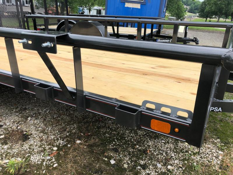 2019 Diamond C Trailers PSA135L12X77 Utility Trailer