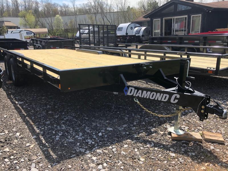 2019 Diamond C Trailers MDT252L20X98 Utility Trailer