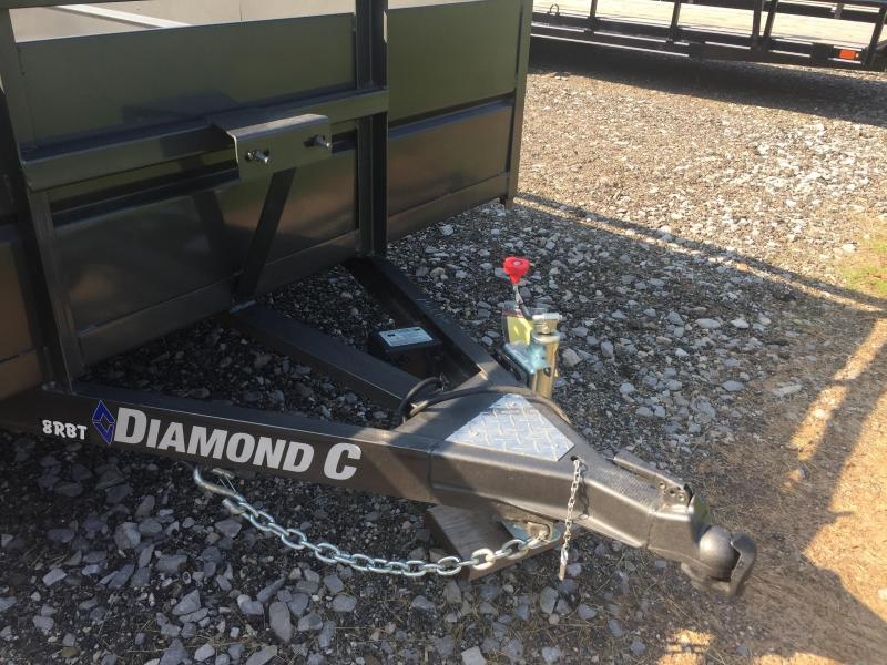 2018 Diamond C Trailers 8RBTL16X83 Utility Trailer