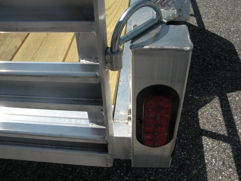 "2019 Quality Steel and Aluminum 62"" X 10' Aluminum Utility Trailer"
