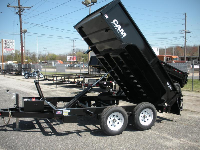 2019 Cam Superline 6' X 12' 10 K Low Profile Dump Trailer with Ramps in Ashburn, VA
