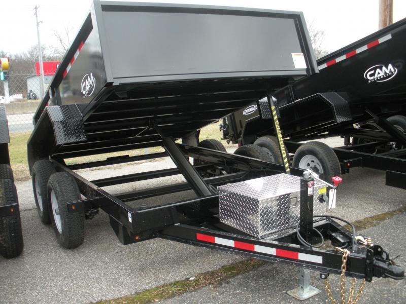 2019 Cam Superline 6' X 10' 10K Low Profile Dump Trailer in Ashburn, VA