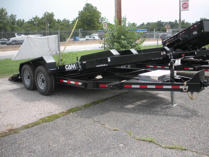 "2019 Cam Superline 81"" X 18' Full Deck Tilt Trailer Equipment Trailer"