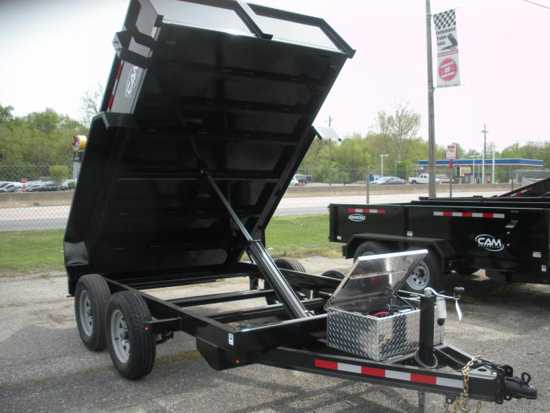 2019 Cam Superline 6' X 10' 8K Low Profile Dump Trailer in Ashburn, VA