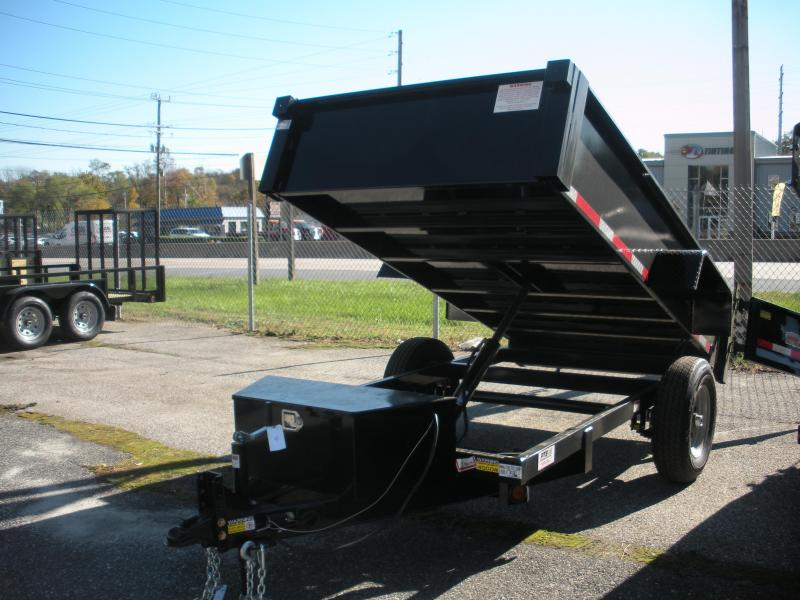2019 Quality Steel and Aluminum 5' X 10' 6K Dump Trailer in Ashburn, VA