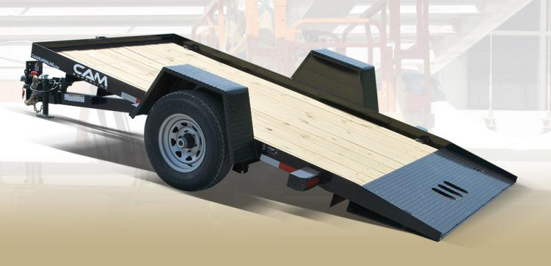 2019 Cam Superline 6' X 12' 7K Single Axle Tilt Equipment Trailer