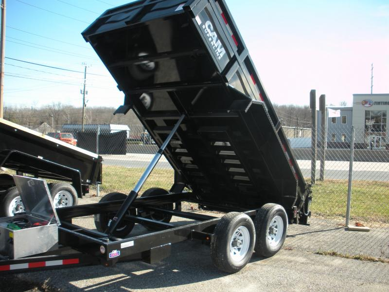 2019 Cam Superline 5CAM 6' X 12' 12K Standard Duty Low Profile Dump Trailer with Ramps in Ashburn, VA