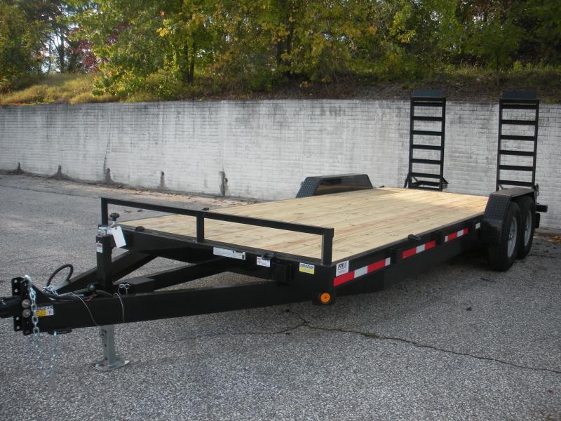 "2019 Quality Steel and Aluminum 83"" X 20' Equipment Trailer in Ashburn, VA"