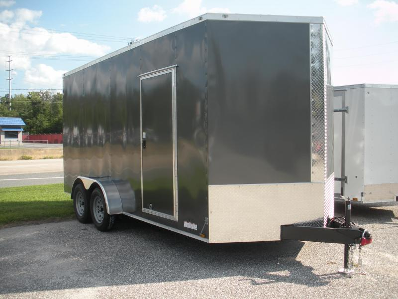 2019 Anvil 7' X 16' w/ 7' Interior Enclosed Cargo Trailer in Ashburn, VA
