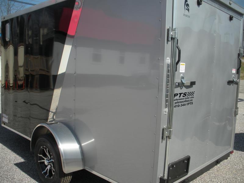 2019 Spartan 6 X 12 Black Silver Amp Motorcycle Pkg