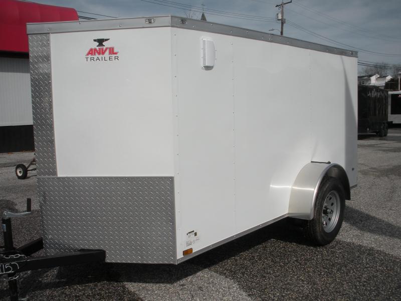 2019 Anvil 5' X 10' Single Axle Enclosed Cargo Trailer in Ashburn, VA