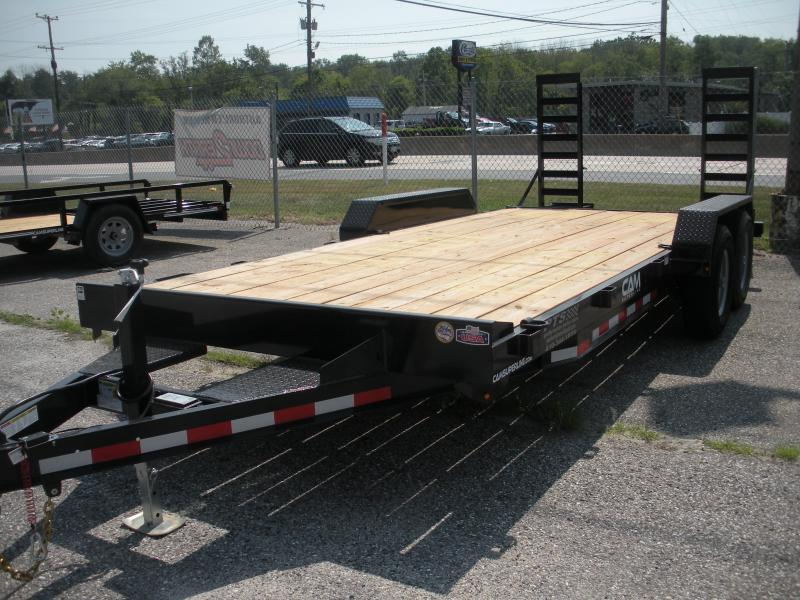 "2019 Cam Superline 82"" X 18' 10K Channel Frame with Beavertail  Equipment Trailer"