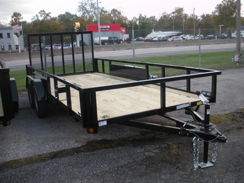 "2019 Quality Steel and Aluminum 82"" X 16' Tandem Axle Utility Trailer in Ashburn, VA"