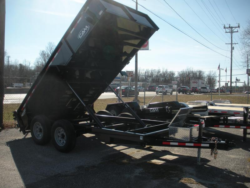 "2019 Cam Superline 81 1/2"" X 14' 14 K Heavy Duty Low Profile Dump Trailer in Ashburn, VA"