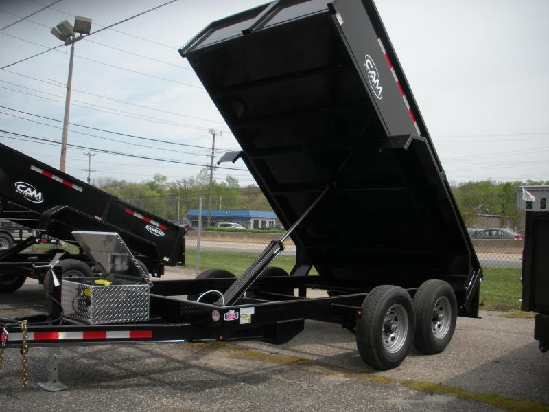 2019 Cam Superline 6' X 12' 10K Low Profile Dump Trailer in Ashburn, VA