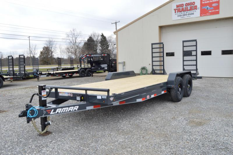 2019 Lamar Trailers 83X20 Equipment Trailer