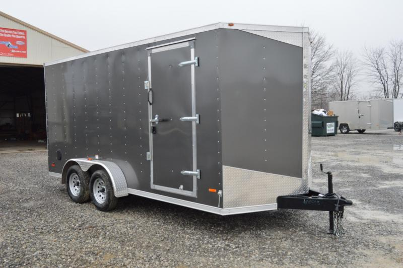 2019 RC Trailers 7X16 Enclosed Cargo Trailer