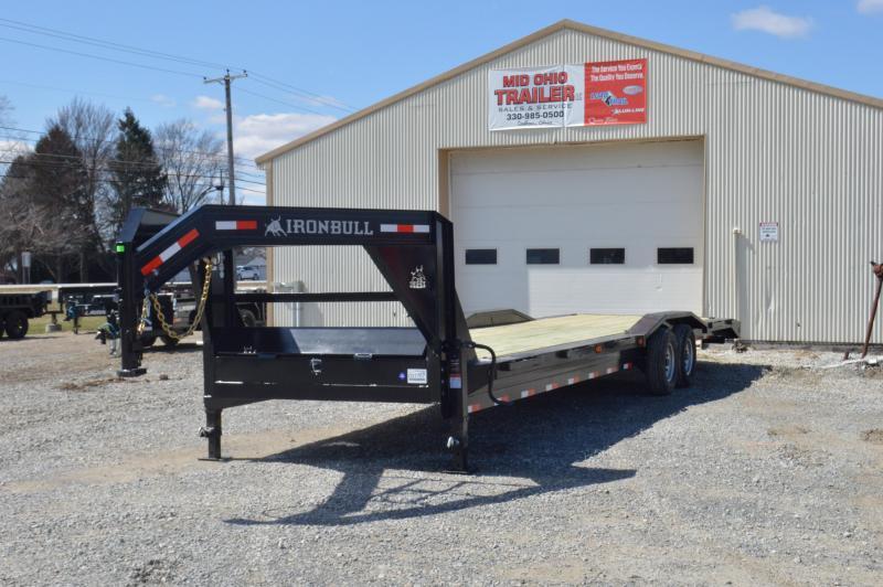 2019 Iron Bull 102x32 Gooseneck Equipment Trailer in Ashburn, VA