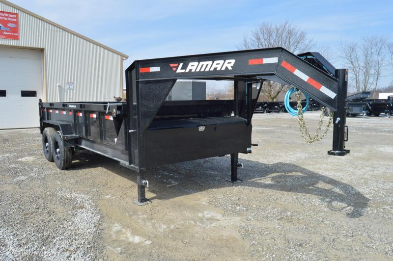 2019 Lamar Trailers 83x16 Low Pro Dump Trailer in Ashburn, VA