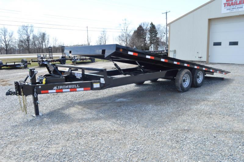 2019 Iron Bull 102x22 Tilt Deck-Over Equipment Trailer in Ashburn, VA