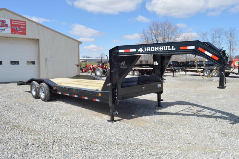 2019 Iron Bull 102x24 Goseneck Equipment Trailer in Ashburn, VA