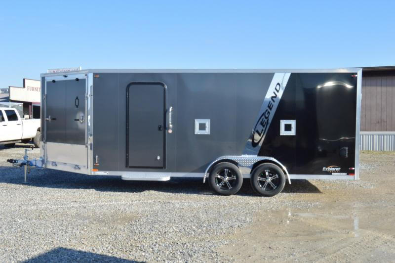2019 Legend Trailers 7X23 EXPLORER Snowmobile Trailer in Ashburn, VA